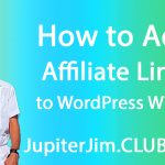 add affiliate links wordpress sidebar