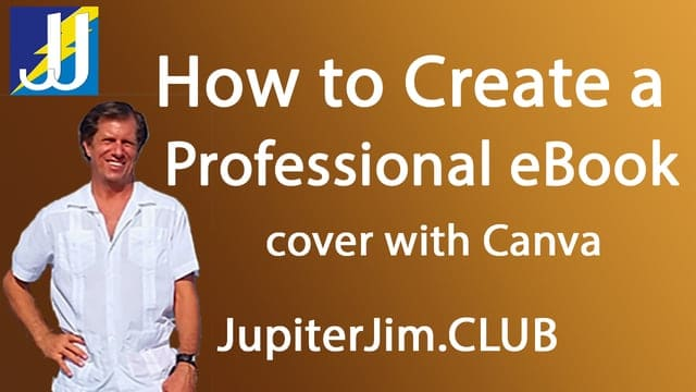 How to Create Professional eBook eCover with Canva